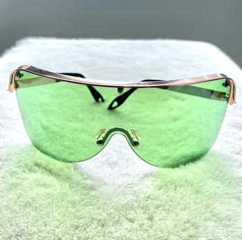 Oversized Green Colored Sunglasses