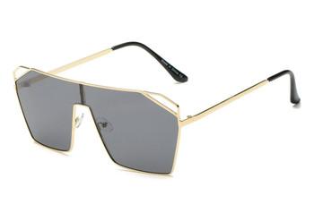 Flat Top Ocean Smoke Sunglasses
