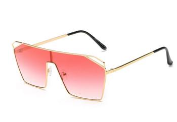 Flat Top Pink Sunglasses