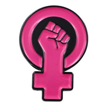 Womens Power Enamel Pin
