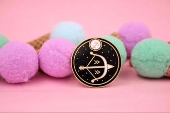 Astrology Sagittarius Enamel Pin