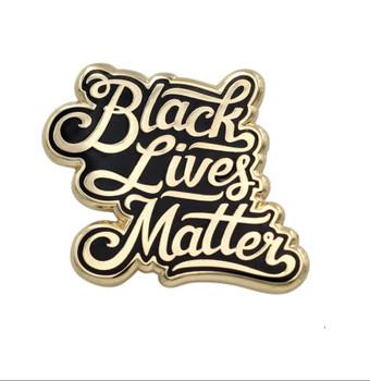 Black Lives Matter BLM Pride And Protest Enamel Pin