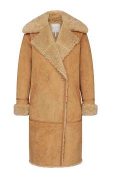 Toffee Ladies Shearling Jacket