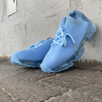 Blue Mesh Breathable Casual Sneaker