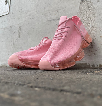 Pink Mesh Breathable Casual Sneaker