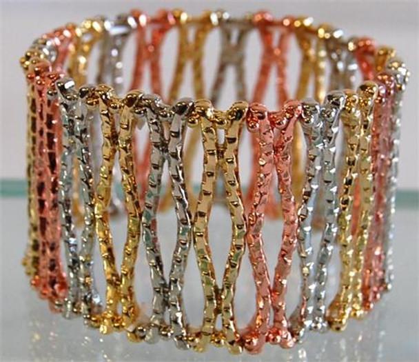 Multitone Cuff Bracelet