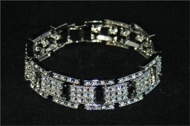 Icy Block Link Bracelet