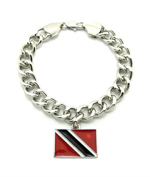 Silver Trinidad and Tobago Bracelet