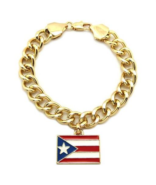 Gold Puerto Rico Bracelet