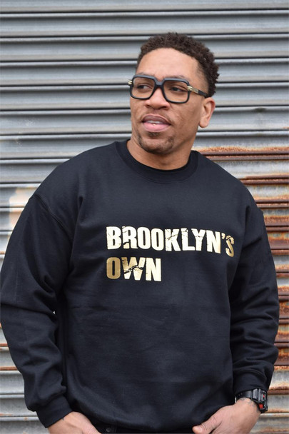 Brooklyn's Own Gold Sweatshirt