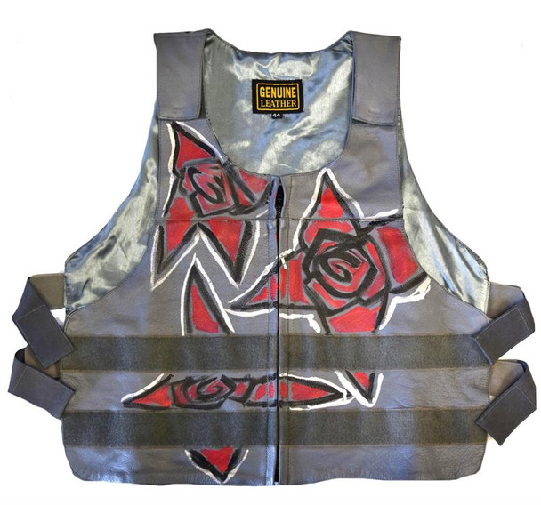 Need The Rose Gold Red Roses Unisex Motorcycle Vest
