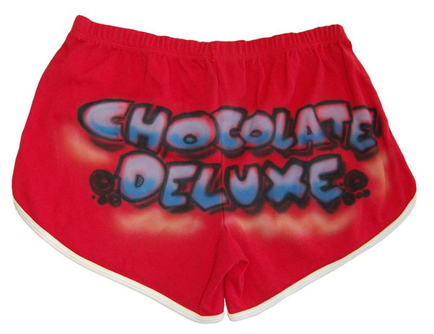 Red Chocolate Deluxe Custom Short