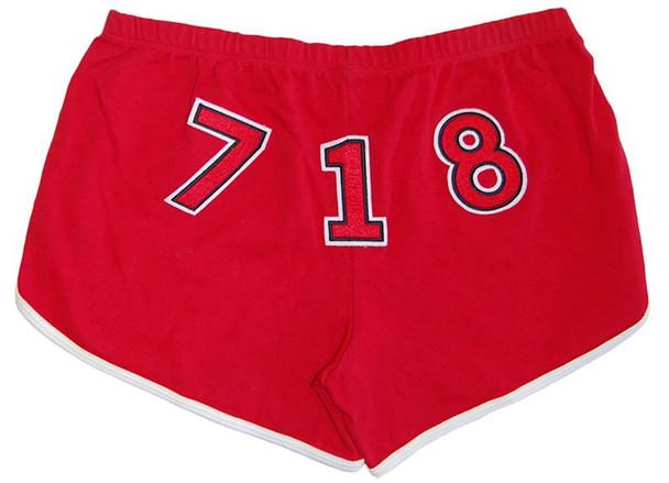 Red 718 BK Custom Shorts