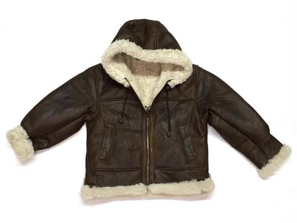 Children's Pilot Sheepskin Jacket