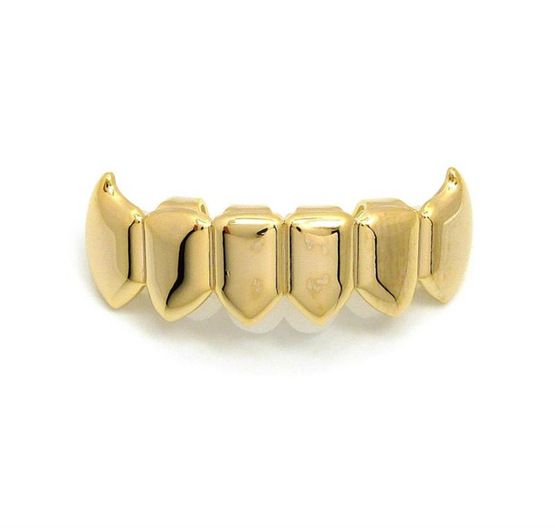 Gold Fang Bottom Grillz
