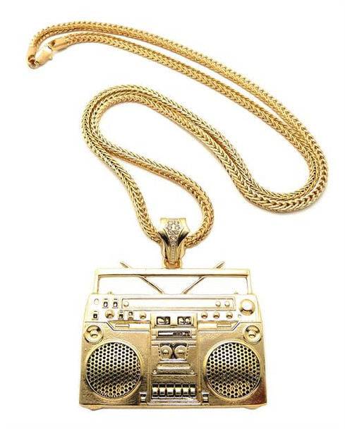Gold Boom Box Chain
