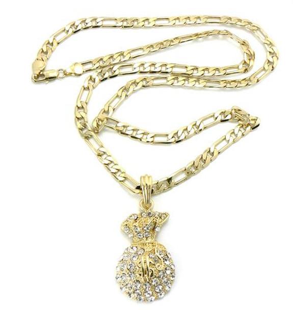 Gold Money Bag Chain