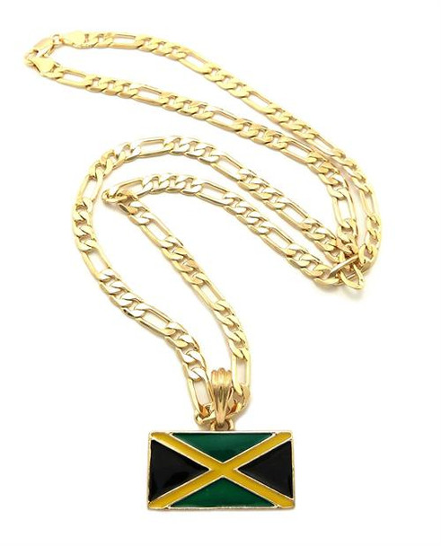 Gold Jamaica Link Chain