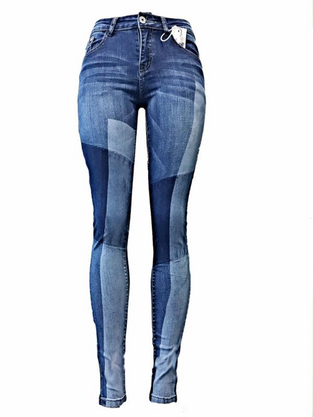 Patches Ladies Denim Jeans