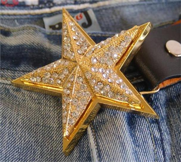 3D Star Belt Buckle