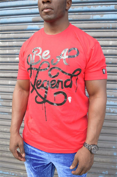 Be A Legend Red Tee Shirt