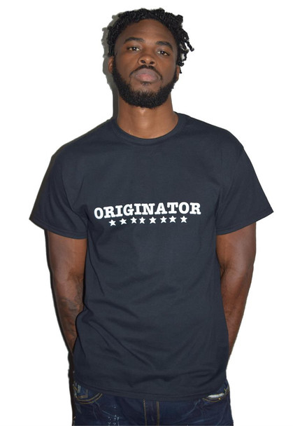 Black Originator Tee Shirt