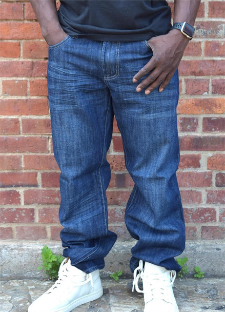 G Gator Relaxed Fit Blue Jeans