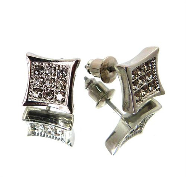 Hip-Hop Stone Earrings 400