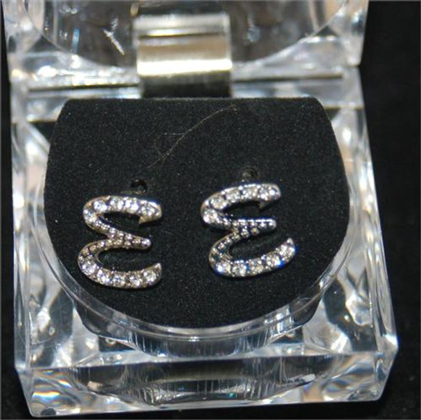 Icey Letter E Earrings
