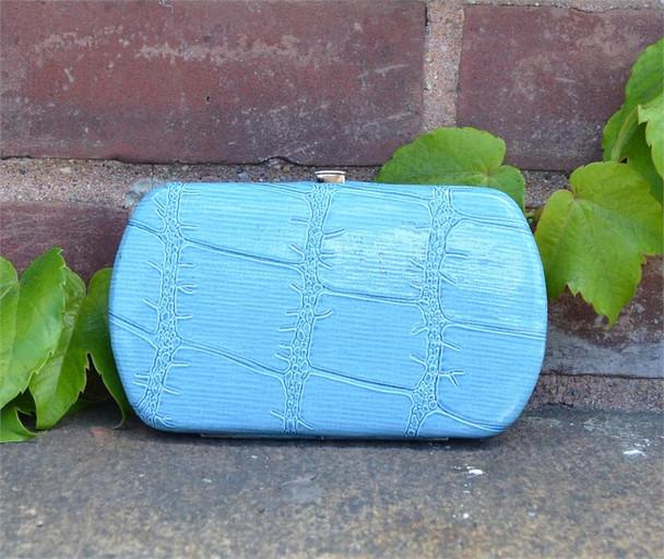 Mini Turquoise Hard Wallet