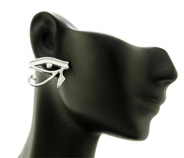 Silver Eye of Horus Stud Earrings