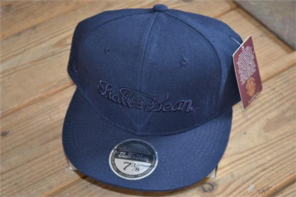 Stall and Dean Navy Scripture Hat