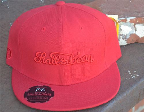 Stall and Dean Red Scripture Hat