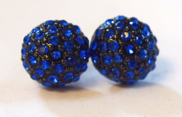 Blue Studded Circles