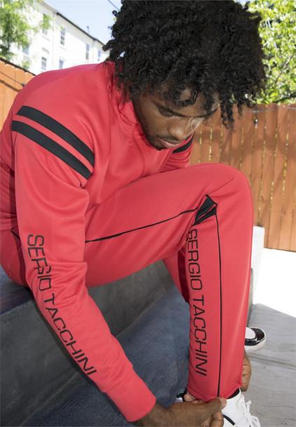 Sergio Tacchini Red Track Pants