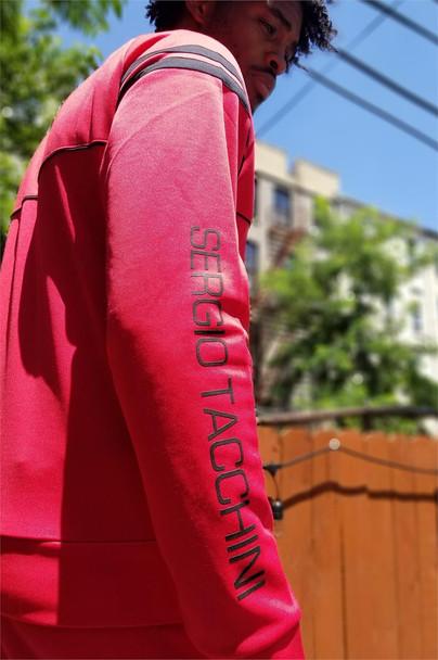 Sergio Tacchini Red Track Jacket