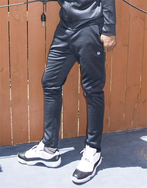 Sergio Tacchini Black Track Pants