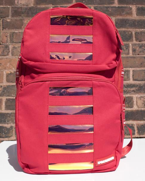 Sprayground Red Hologram Trooper Backpack