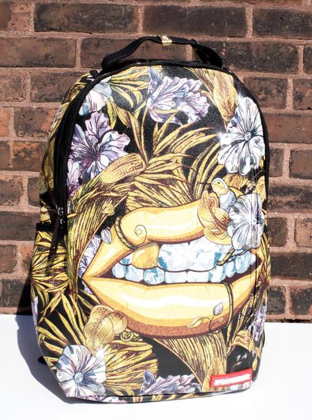 Sprayground 24K Diamond Lips Backpack