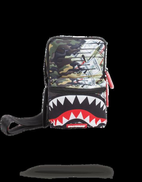 Sprayground Psycho Shark Mini Sling (B1821)