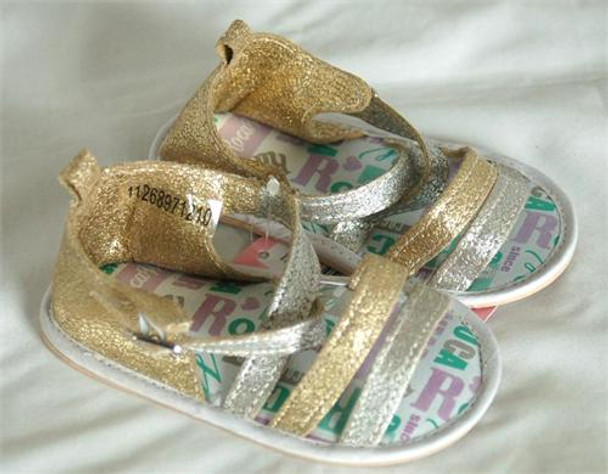 Rocawear Multi Gold Girls Sandals