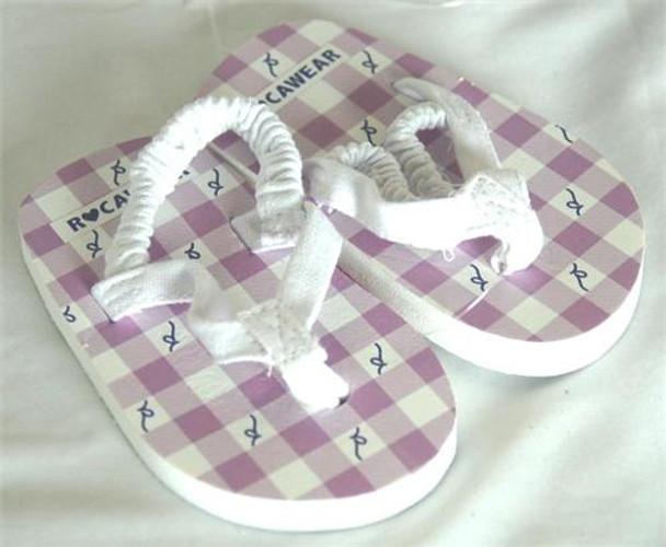 Rocawear Girls Purple Flip Flops