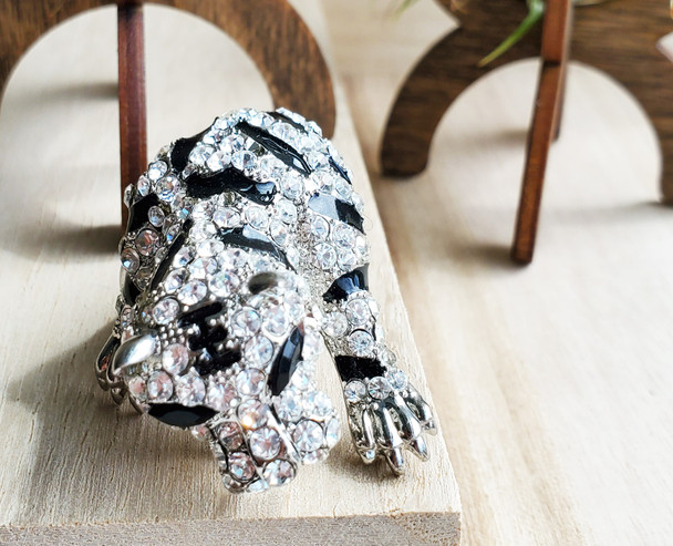 Silver Tiger Ring