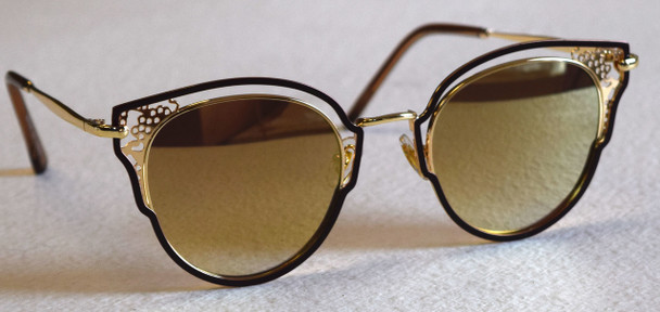 Brown&Gold Sunglasses