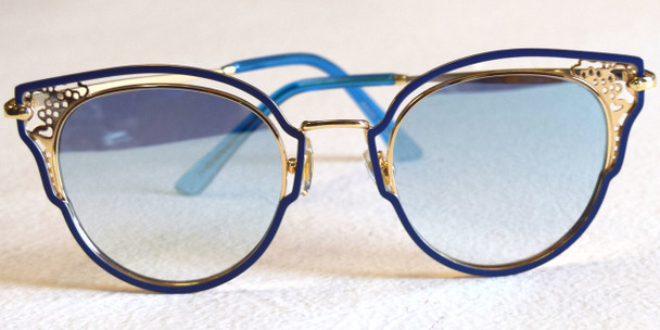 Blue&Gold Sunglasses