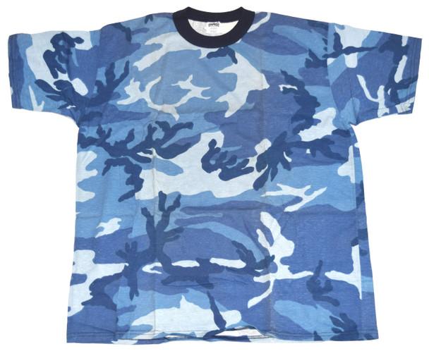 Blue Army Fatigue T-Shirt