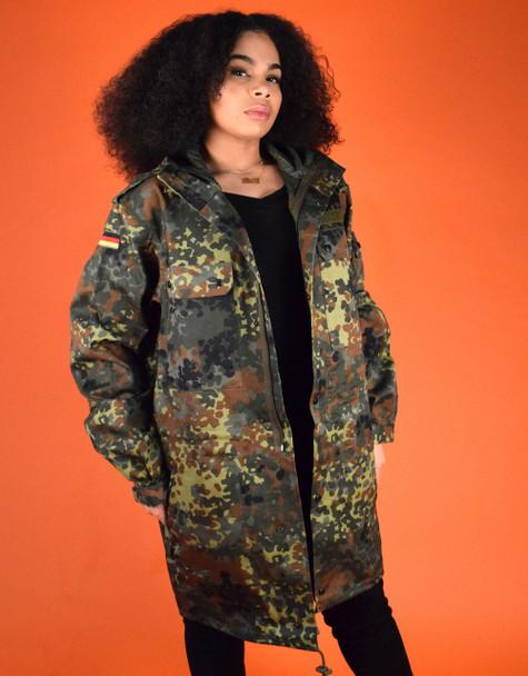 German Flecturn Parka jacket Three Quarter