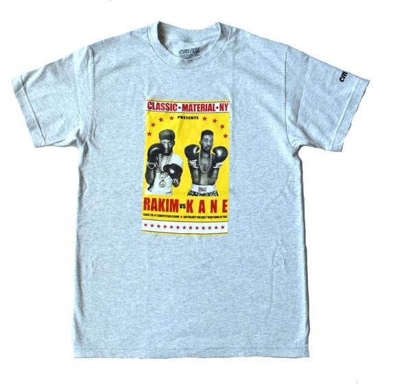Classic Material NY Rakim vs Kane Tee