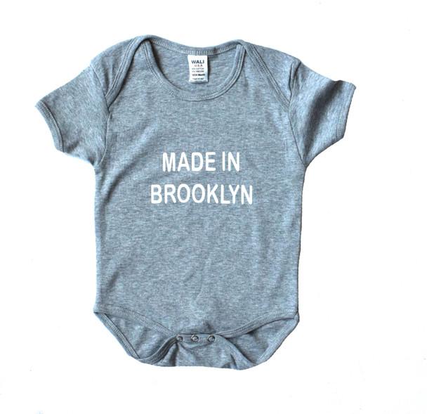 Made in Brooklyn Onsie