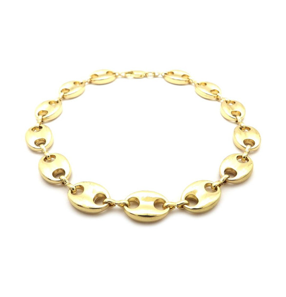 Marina Link Bubble Anklet